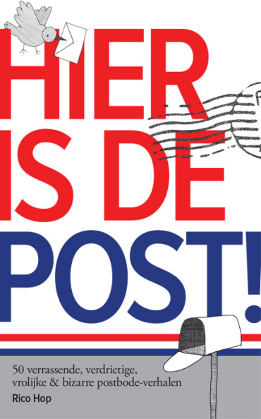 Hier is de post!